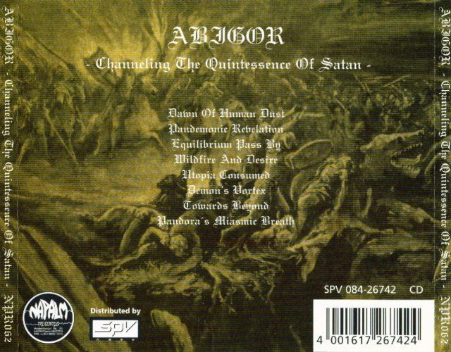 Abigor - Channeling the Quintessence of Satan (1999)