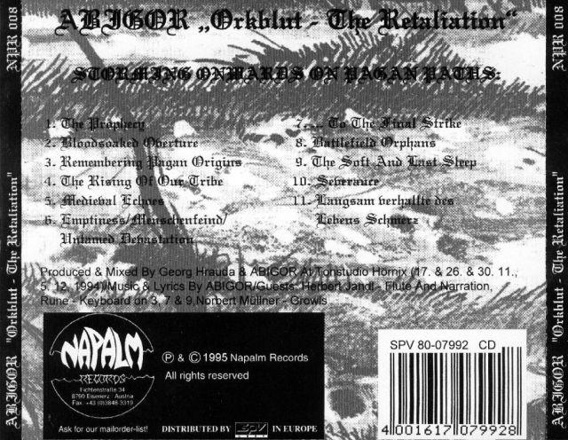 Abigor - Orkblut - The Retaliation (1995)