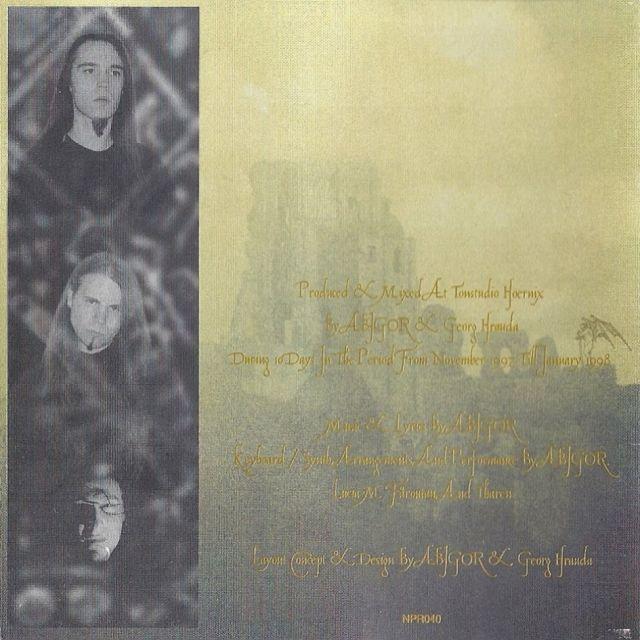 Abigor - Supreme Immortal Art (1998)