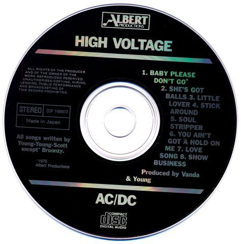 AC/DC - High Voltage (1975)