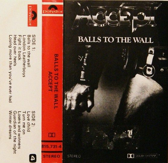 Accept - Balls to the Wall (1983)