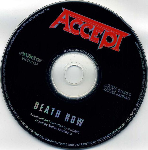 Accept - Death Row (1994)