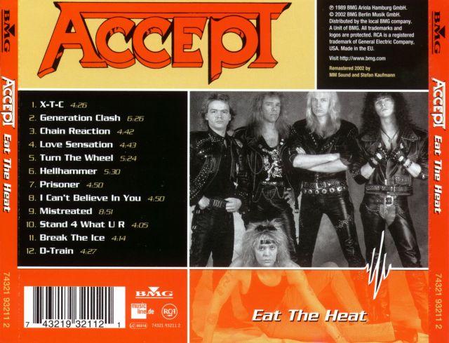 Accept - Eat the Heat (1989)