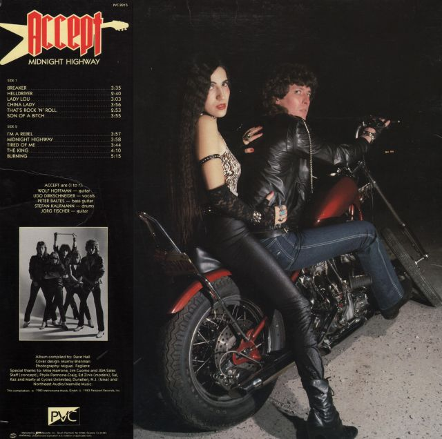 Accept - Midnight Highway (1983)