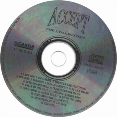 Accept - The Collection (1991)