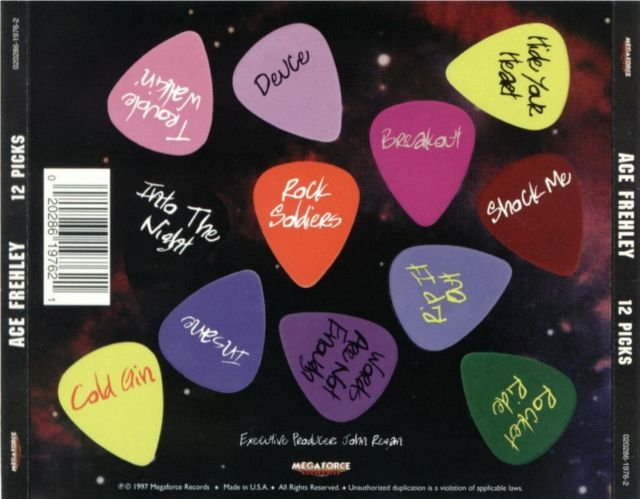 Ace Frehley- 12 Picks (1997)