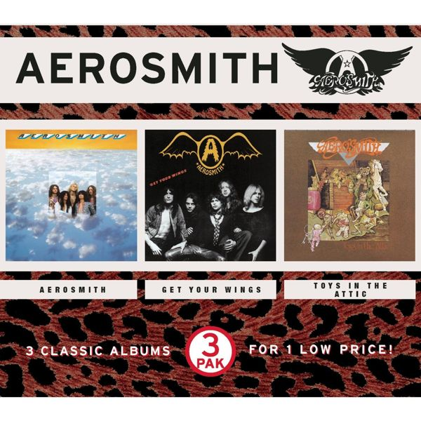 Aerosmith - Aerosmith / Get Your Wings / Toys In The Attic (1998)