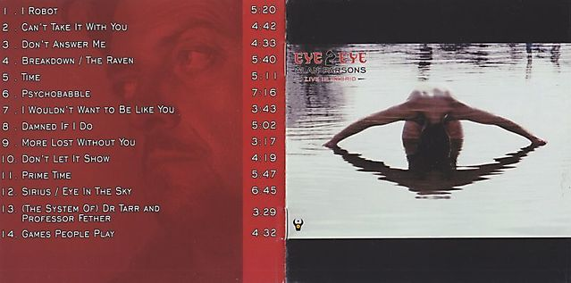 Alan Parsons - Eye 2 Eye (Live In Madrid)