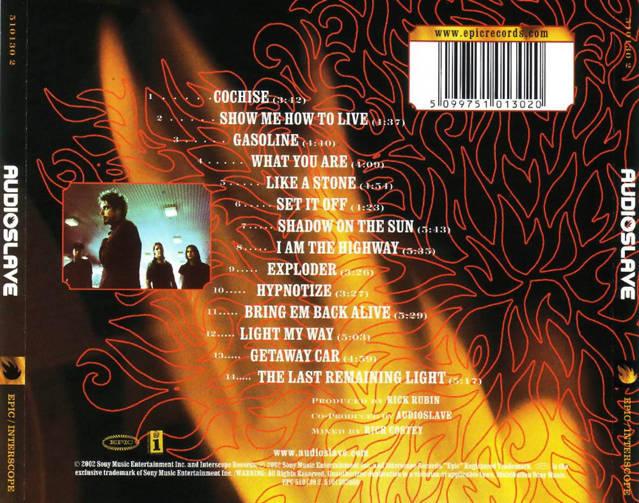 Audioslave - Audioslave (2002)