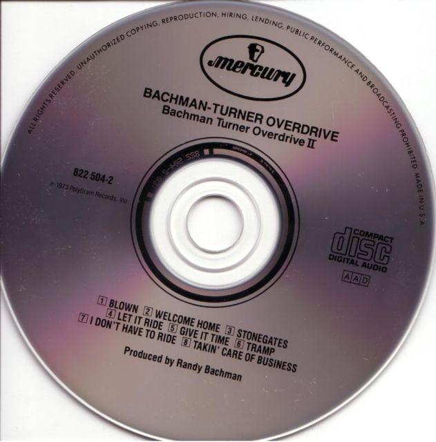 BTO - Bachman–Turner Overdrive II (1973)