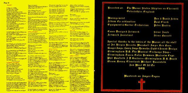 Black Sabbath - Born Again (1983)