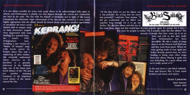 Black Sabbath - Dehumanizer (1992)