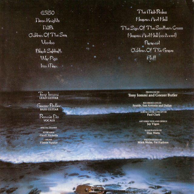 Black Sabbath - Live Evil (1982)
