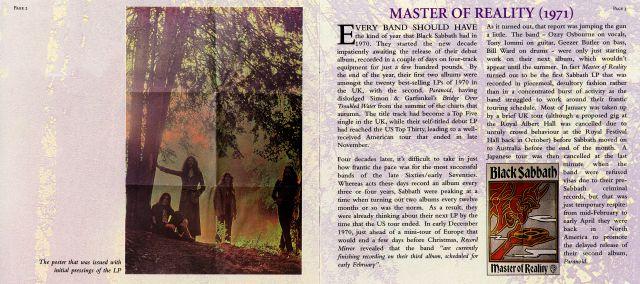 Black Sabbath - Master of Reality (1971)