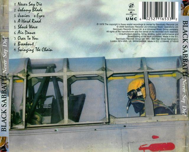 Black Sabbath - Never Say Die! (1978)