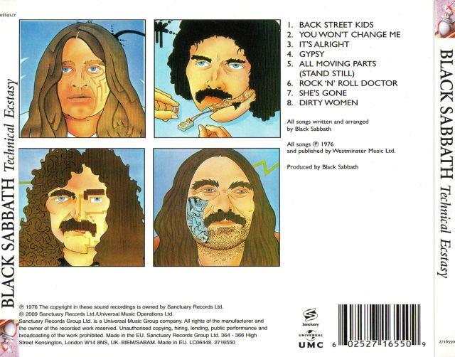 Black Sabbath - Technical Ecstasy (1976)