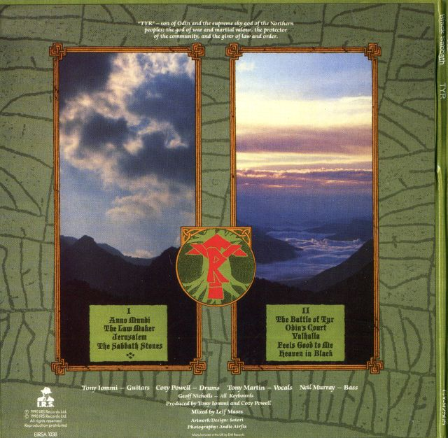 Black Sabbath - Tyr (1990)
