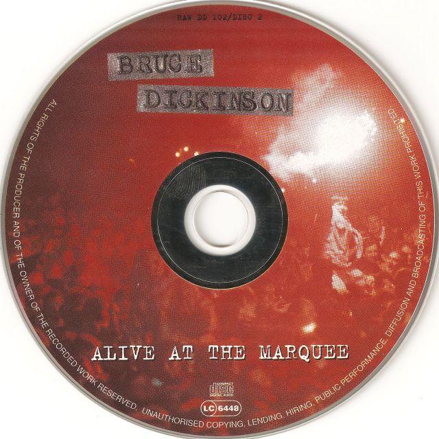 Bruce Dickinson - Alive in Studio A (1995)