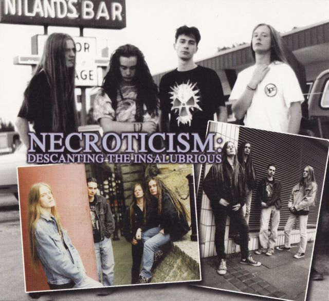 Carcass - Necroticism – Descanting the Insalubrious (1991)