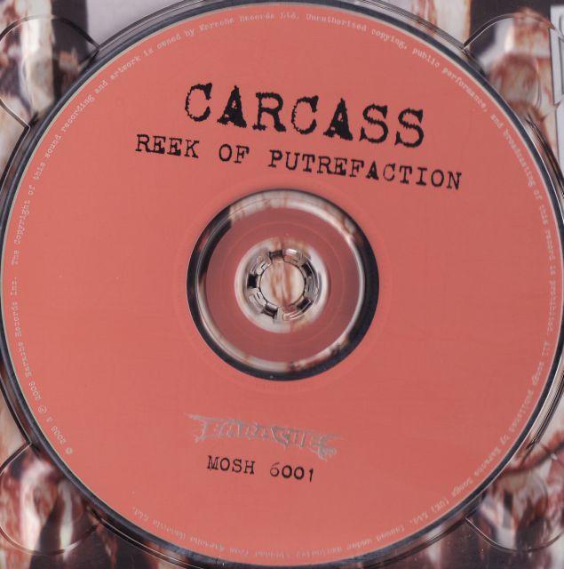 Carcass - Reek of Putrefaction (1988)