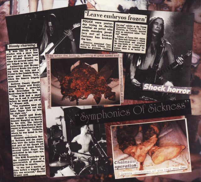 Carcass - Symphonies of Sickness (1989)
