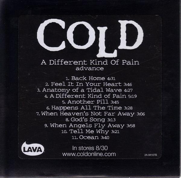 Cold - A Different Kind of Pain (2005)