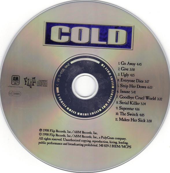 Cold - Cold (1998)