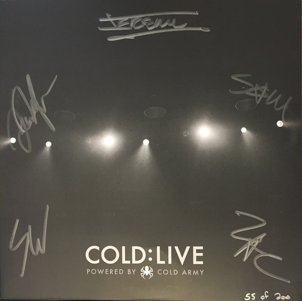 Cold - Cold: Live (2016)