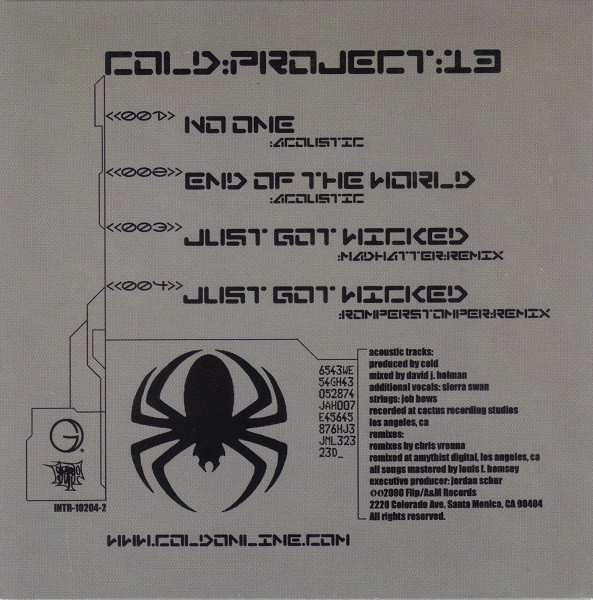 Cold - Project 13 (2000)