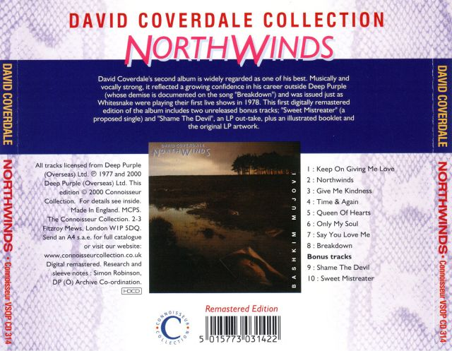 David Coverdale - Northwinds (1978)