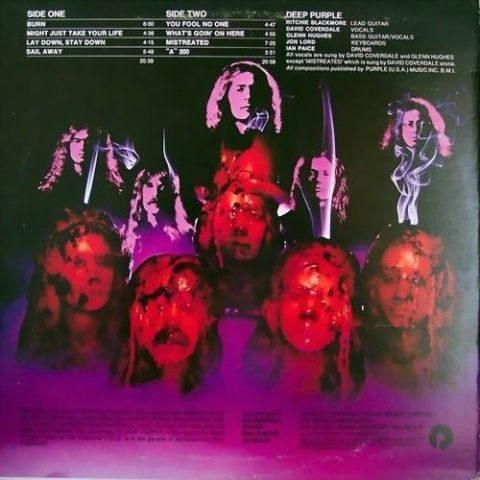 Deep Purple - Burn (1974)
