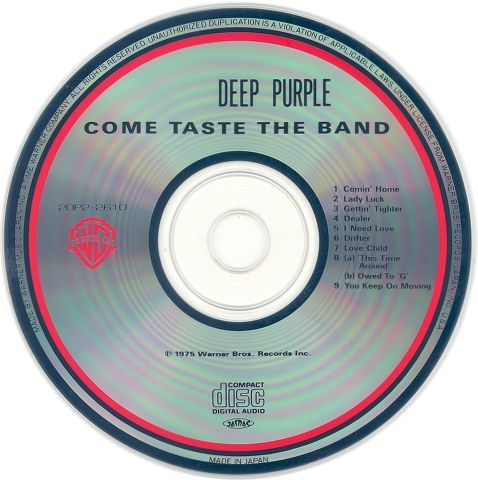 Deep Purple - Come Taste the Band (1975)