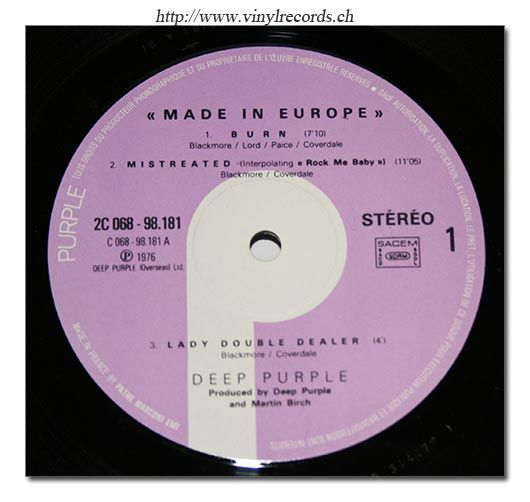 Made In Europe (1976)