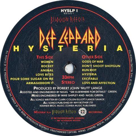 Hysteria (1987)
