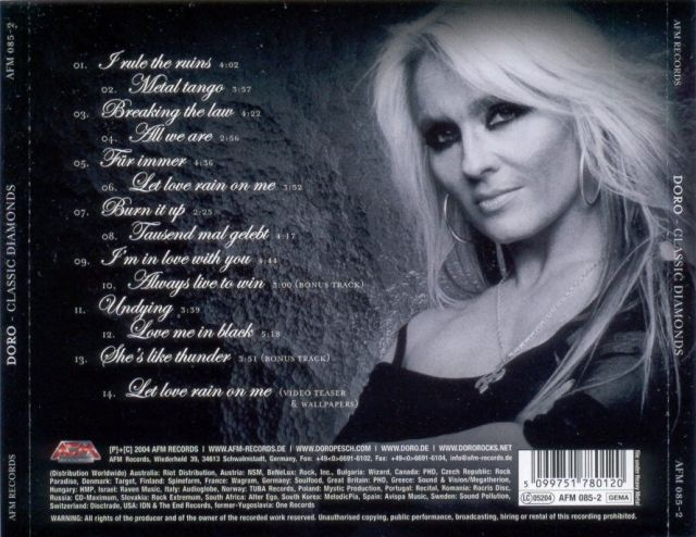 Doro - Classic Diamonds (2004)