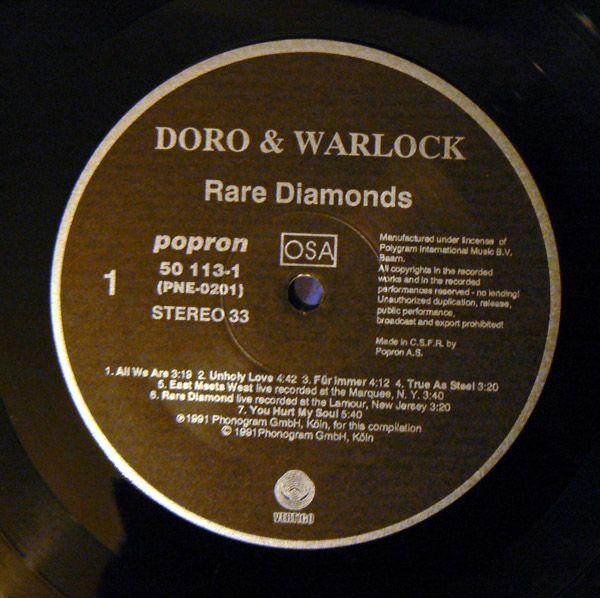 Doro - Rare Diamonds (1991)