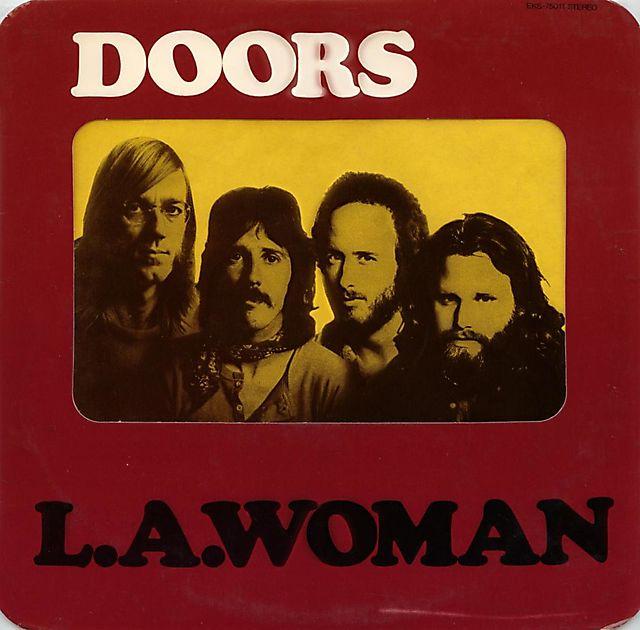 L.A. Woman (1971) - The Doors - Лицевая обложка