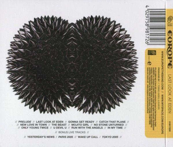 Europe - Last Look at Eden (2009)