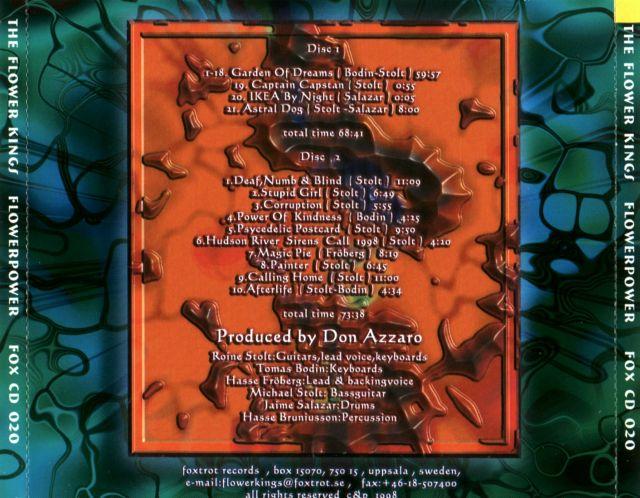 The Flower Kings - Flower Power (1999)