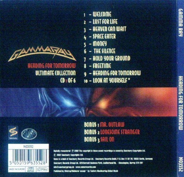 Gamma Ray - Heading for Tomorrow (1990)