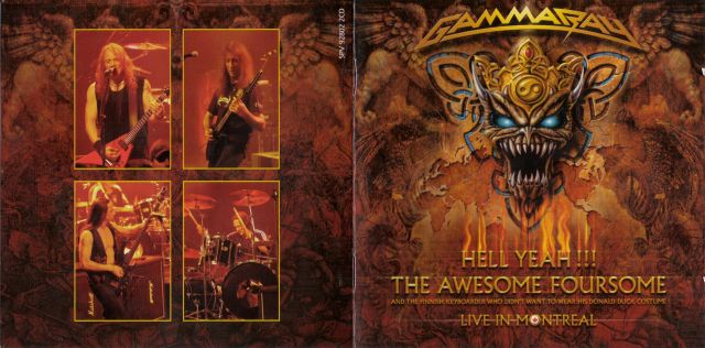 Gamma Ray - Hell Yeah! The Awesome Foursome (2008)