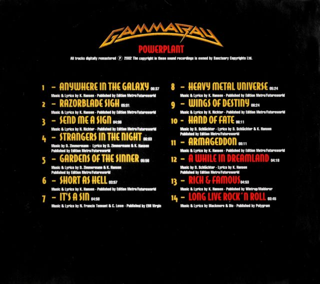 Gamma Ray - Powerplant (1999)