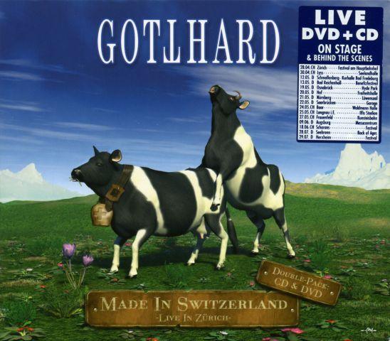 Gotthard - Made In Switzerland - Live In Zürich (2006)