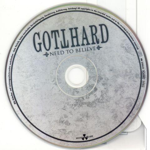 Gotthard - Need to Believe (2009)