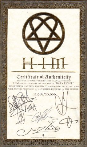 HIM - Dark Light (2005)