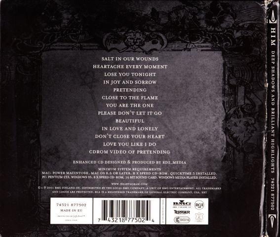 HIM - Deep Shadows and Brilliant Highlights (2001)