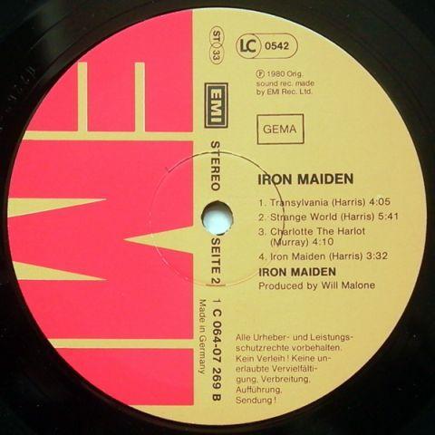 Iron Maiden (1980)