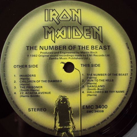 The Number of the Beast (1982)
