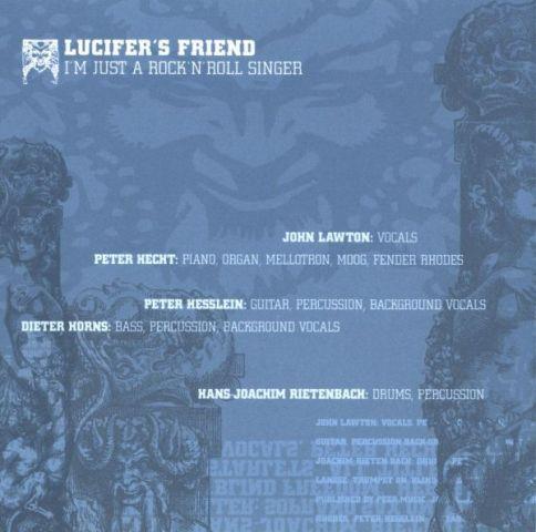 Lucifer's Friend - I'm Just a Rock & Roll Singer (1973)