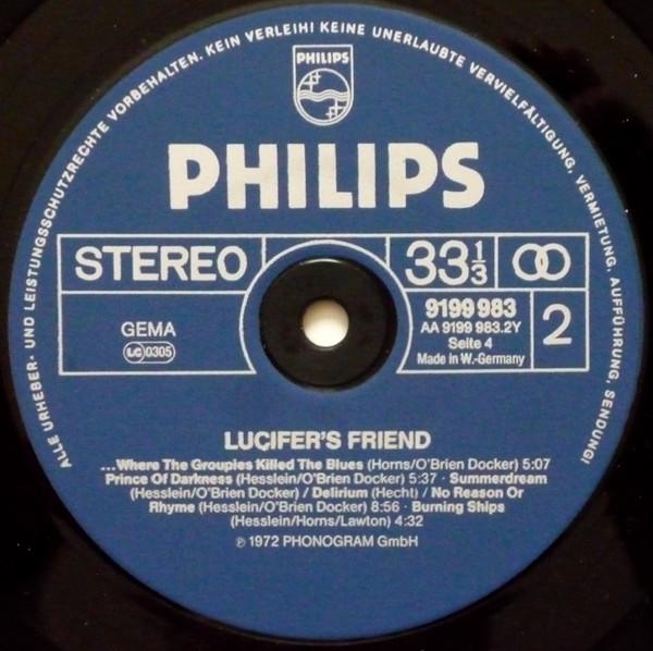 Lucifer's Friend - 2 Original LP's (1975)